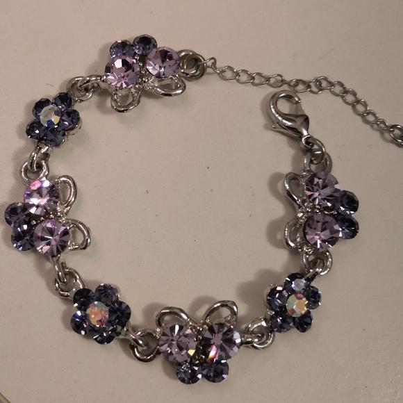 Jewelry - Brand new crystal butterfly bracelet